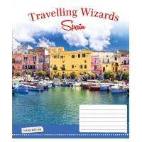 Тетрадь 1 Вересня, А-5, 36л, линия,  Travelling Wizards