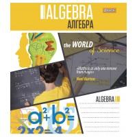 Тетрадь 1 Вересня, А-5, 48л, клетка,    АЛГЕБРА (World of Science)
