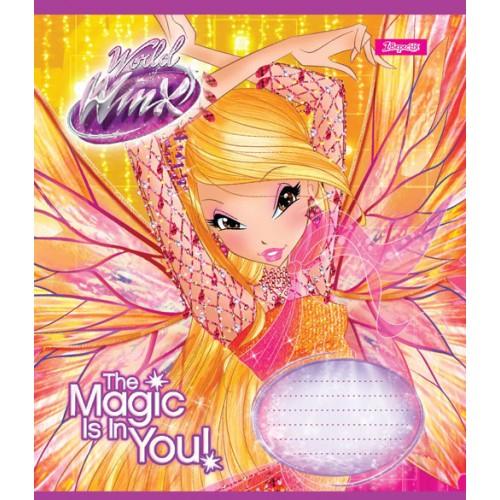А5/12 лин. 1В WINX MAGIC, тетрадь ученич. 763365