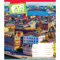 А5/36 кл. 1В FOR OUR CITY, тетрадь для записей