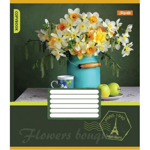 А5/48 лин. 1В FLOWERS BOUQUET, тетрадь для записей 763635
