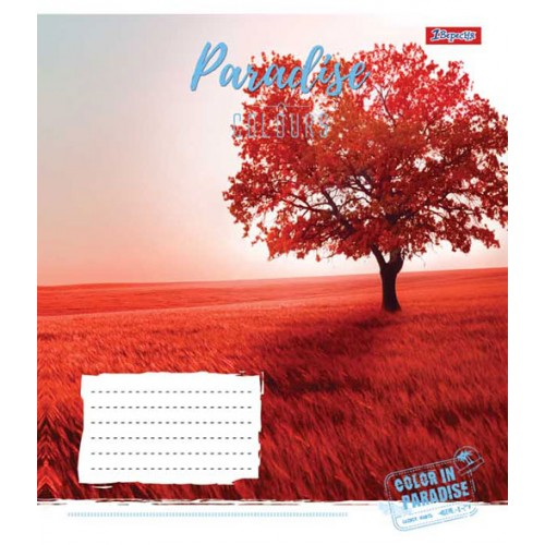 А5/60 лин. 1В PARADISE COLOURS, тетрадь для записей 763670