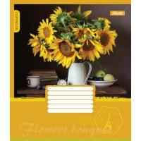 А5/96 кл. 1В FLOWERS BOUQUET, тетрадь для записей