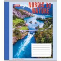 А5/96 кл. 1В NORDIC BY NATURE, тетрадь для записей