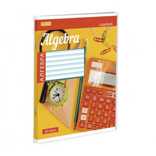 Тетрадь для записей А5/48 кл. 1В АЛГЕБРА (STYLE) 764050