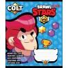 Тетрадь А5 12 Кл. 1В Brawl Stars