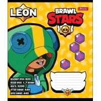 А5/12 лин. 1В BRAWL STARS, тетрадь учен.