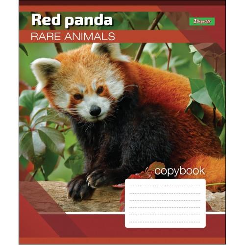 А5/18 кл. 1В RARE ANIMALS, тетрадь учен. 764523