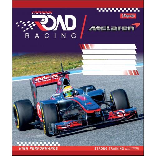 А5/18 лин. 1В ROAD RACING, тетрадь учен. 764554