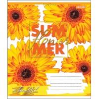 А5/18 лин. 1В SUMMER FLOWER, тетрадь учен.