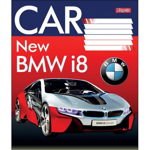 А5/24 лин. 1В EXCLUSIVE CARS, тетрадь учен. 764593