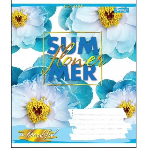 А5/24 лин. 1В SUMMER FLOWER, тетрадь учен. 764601