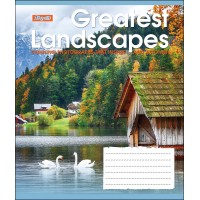 А5/36 кл. 1В GREATEST LANDSCAPES, тетрадь для записей