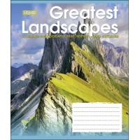 А5/48 кл. 1В GREATEST LANDSCAPES, тетрадь для записей
