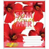 А5/60 кл. 1В SUMMER FLOWER, тетрадь для записей