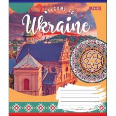 А5/96 кл. 1В WELCOME TO UKRAINE, тетрадь для записей