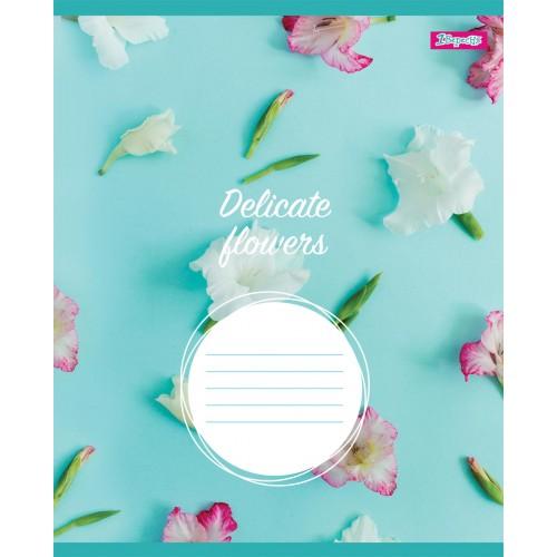 А5/12 кл. 1В DELICATE FLOWERS, тетрадь учен. 764805
