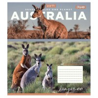 А5/36 кл. 1В Earth animal, тетрадь для записей