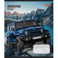 А5/48 лин. 1В Adventure off-road, тетрадь для записей