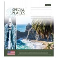 А5/48 лин. 1В Spacial places, тетрадь для записей