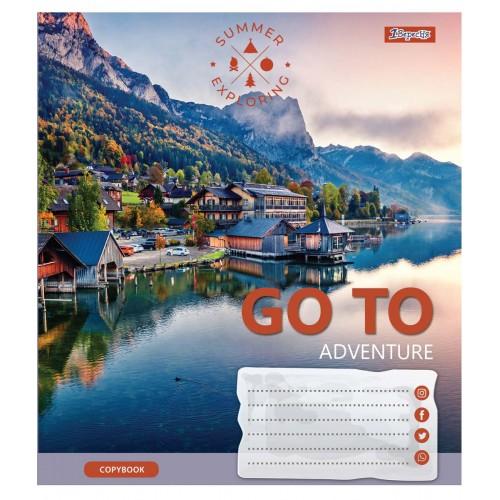 А5/96 кл. 1В Go to adventure, тетрадь для записей 764970