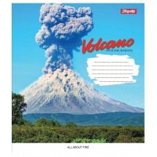 Тетрадь А5 24 Лин. 1В Volcano