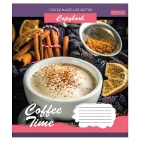 Тетрадь А5 48 Кл. 1В Coffee Time