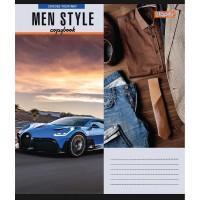 Тетрадь А5 48 Кл. 1В Men Style