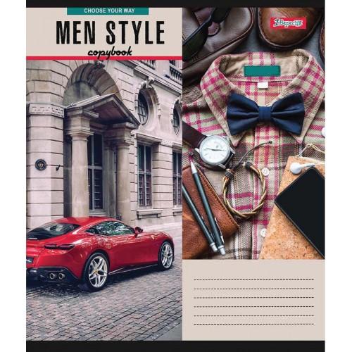 Тетрадь А5 48 Кл. 1В Men Style 765466