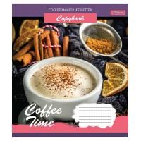 А5/48 лин. 1В Coffee time, тетрадь для записей