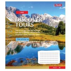 Тетрадь А5 48 Лин. 1В Discover Tours