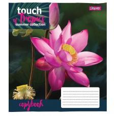 Тетрадь А5 60 Кл. 1В Touch Tropics