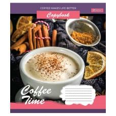 Тетрадь А5 96 Лин. 1В Coffee Time