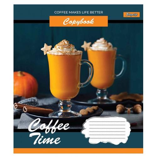 Тетрадь А5 96 Лин. 1В Coffee Time 765491