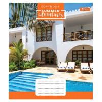 А5/96 лин. 1В Summer adventures, тетрадь для записей