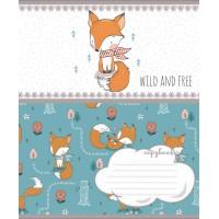 Тетрадь А5 12 Кл. 1В Wild And Free