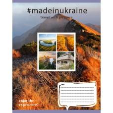 Тетрадь А5 24 Лин. 1В Made In Ukraine