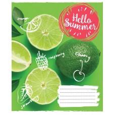 А5/60 лин. 1В Hello summer, тетрадь для записей