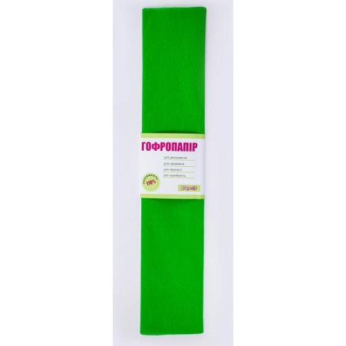 Бумага гофр. св.-зелен. 110% (50см*200см) 703078