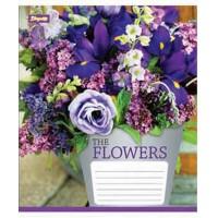 А5/24 кл. 1В Flowers bouquet -17 тетрадь ученич.