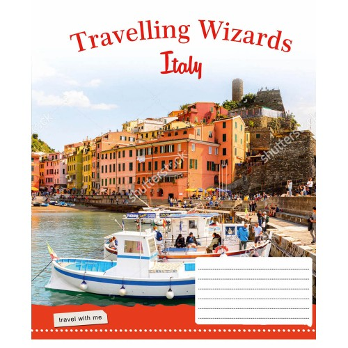 А5/60 лин. 1В Travelling Wizards -17 тетрадь ученич. 760042