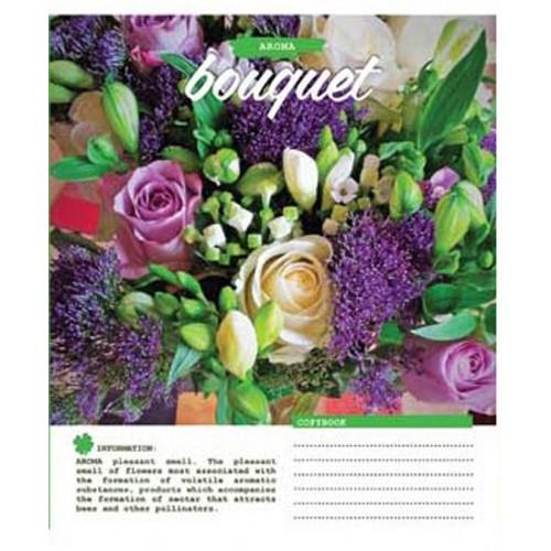 А5/60 лин. 1В Bouquet -17 тетрадь ученич. 760046