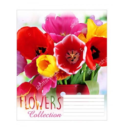 А5/36 лин. 1В Flowers dream -17 тетрадь ученич. 680003