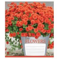 А5/18 кл. 1В Flowers bouquet -17 тетрадь ученич.