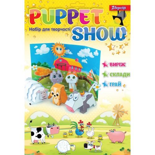 "Набор для творчества ""Puppet show"" Farm animals 953037"