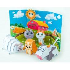 "Набор для творчества ""Puppet show"" Farm animals"