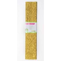 Бумага гофр. 1Вересня золот. 20% (50см*200см)