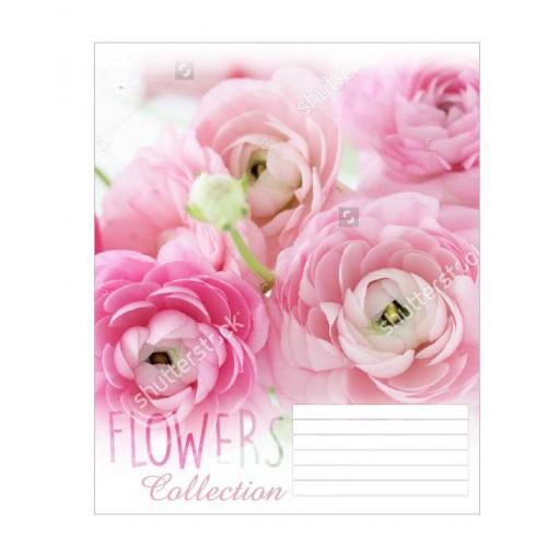А5/12 кос. 1В Flowers dream -17 тетрадь ученич. 680020