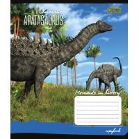 А5/12 кос. 1В Dinosaurus -17 тетрадь ученич.