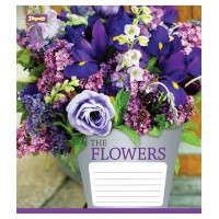 А5/96 кл. 1В Flowers bouquet -17 тетрадь ученич.